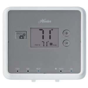 Hunter 42122 5 Minute Digital Non Programmable Thermostat