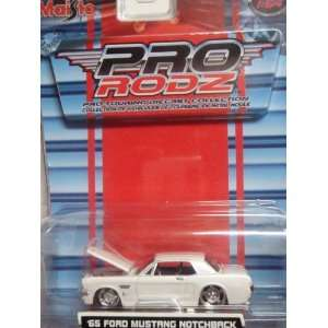 Touring Diecast Collection 65 Stang Deep Dish Chrome & White Open
