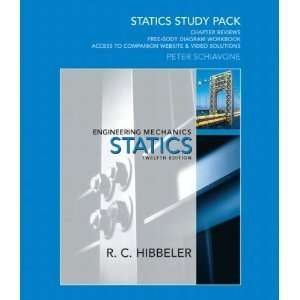 Study Pack for Engineering Mechanics 12nd (Second) edition BYHibbeler