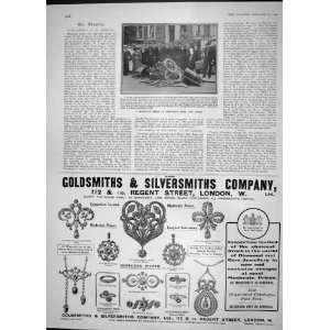 1904 MOOR CAR SMASH SHEPHERDS BUSH GOLDSMIHS LONDON