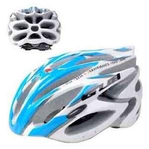 GUB 98 light blue helmet / one piece dual purpose bike