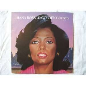 20 golden greats / Vinyl record [Vinyl LP]: Diana Ross