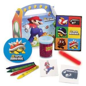 Party Destination Super Mario Bros. Party Favor Box Everything Else