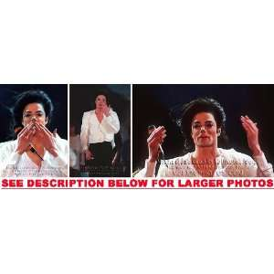 MICHAEL JACKSON 1996 I LOVE YOU MORE (3) RARE 8x10 FINE