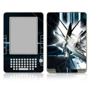 Kindle 2 Skin Decal Sticker   Abstract Tech City