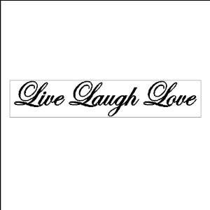 Live Laugh LovePeel and Stick Family Wall Quotes Words