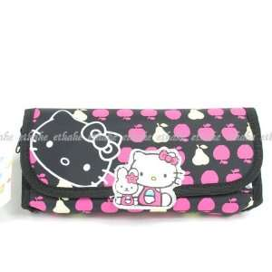 Hello Kitty Pencil Case Cosmetic Makeup Bag Purse