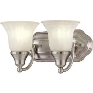 Two Light Energy Star Qualified Bathroom Fixture