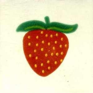 Talavera Tile Strawberry Fruit Design 3283 4x4: Home Improvement