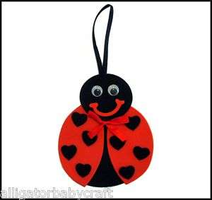 Ladybug Spring Door Hanger Craft Kit for Kids ABCraft