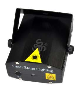 RG Projector Laser Stage DJ Disco Party Pub Club KTV Lighting Black