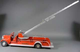Vintage SMITH MILLER MIC AERIAL LADDER FIRE TRUCK LAFD