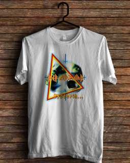 new def leppard hysteria tour 2011 pyromania t shirt