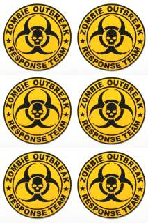 Zombie Outbreak Response Team Decals troy tactical ar 15 magpul p mag