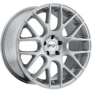 Niche Circuit 20x10 Silver Wheel / Rim 5x4.5 with a 40mm Offset and a