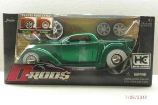 24 Jada D Rod$ (Hobby Exclusive) 1937 Ford Pickup – Green
