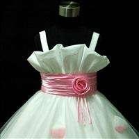 baby christening bridesmaid flower girl dress 2 10 years old