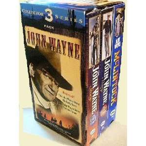 com John Wayne Collectors 3 Pack Series McLintock; The John Wayne