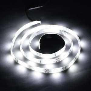 Cool White 1M 30 LED 5050 SMD Flexible Car DIY Strip Light