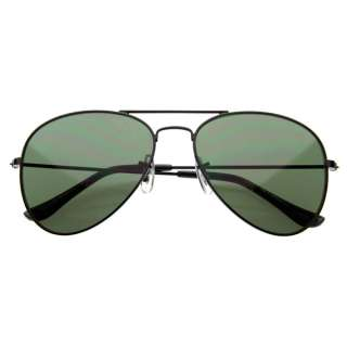 Classic Full Metal Military Frame Aviators Aviator Sunglasses 1041