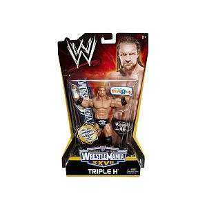 WWE Wrestling Exclusive Wrestle Mania XXVII Action Figure Triple H