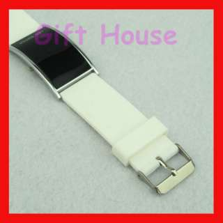 NEW Red LED Digital Sport wrist Watch Fashion Unisex White
