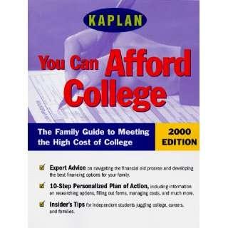 KAPLAN YOU CAN AFFORD COLLEGE 2000 (Kaplan Paying for College) Kaplan