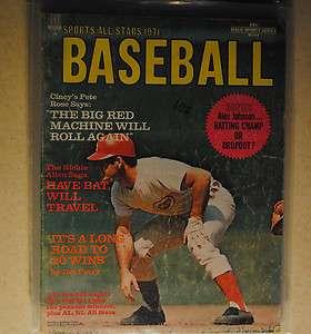 1971 Sports All Stars Baseball Cincinnati Reds Pete Rose