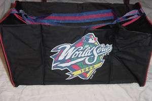Baseball MLB World Series 1999 Duffle Bag New