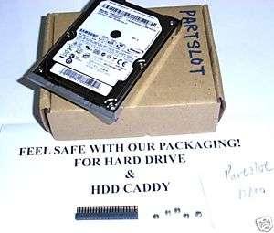 160GB IDE HDD+ DELL Latitude D810 Hard Drive Caddy