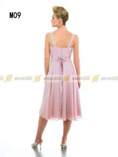 Wedding Dress Mother of bridal dress Chiffon Beads Free jacket Custom