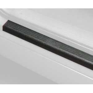 Auto Ventshade 88130 Stepshield Black Door Sill Protector