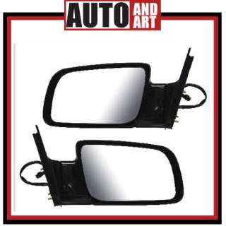 CHEVY GMC PICKUP TRUCK POWER MIRROR 88 89 90 91 PAIR
