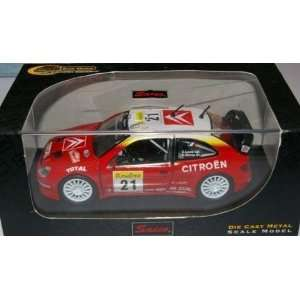 World Rally Champion   1:32nd Scale 2002 Citroen Xsara WRC