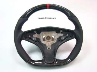 Mercedes AMG w204 C63 carbon RED ring steering wheel