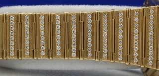 Mens OMEGA Constellation Watch   SOLID 18K GOLD   DIAMOND BEZEL DIAL