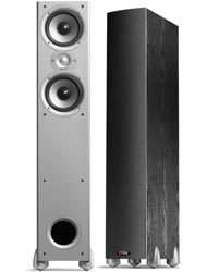 PAIR] Monitor 50 BLACK Tower Speakers Polk Audio