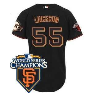 Wholesale New San Francisco Giants #55 Tim Lincecum Black