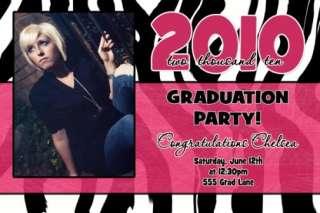 Boy or Girl High School College Graduation Invitations