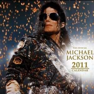 Michael Jackson Wall Calendar 2011