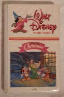 Home Video VHS A Walt Disney Christmas Mickey Minnie Donald Cartoon