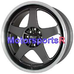 17 17x7 17x9 XXR 962 gun metal wheels Rims Staggered 4x100 4x114.3 4x4