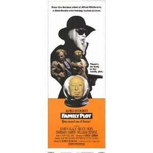 Family Plot Movie Poster (11 x 17 Inches   28cm x 44cm) (1976) Style B