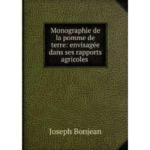 : envisagée dans ses rapports agricoles .: Joseph Bonjean: Books