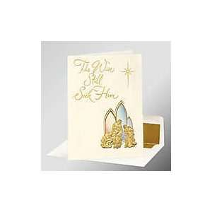 50 pcs   Wise Men Personalized Christmas Cards: Health