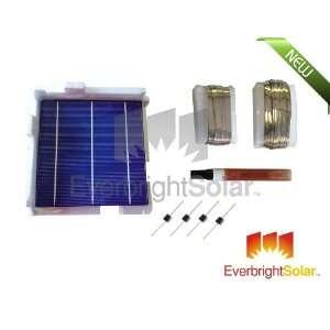 145 pc Grade A Multi 6x6 Solar Cell DIY Solar Panel Kit w