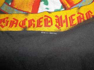 Vtg 1985 DIO Sacred Heart Concert Tour Shirt