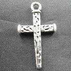 lots 60 pcs Tibetan silver Mixed style cross Charms