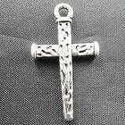 lots 60 pcs Tibetan silver Mixed style cross Charms