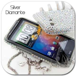 BLING Crystal Gem Hard Skin Case AT&T HTC Inspire 4G